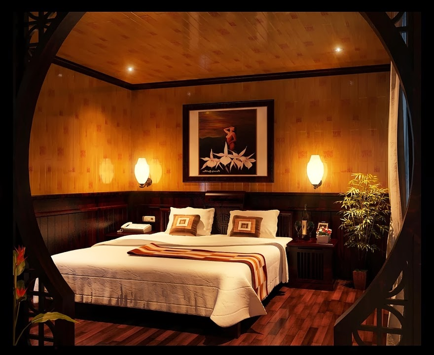 Natural Romantic Master Bedroom Ideas