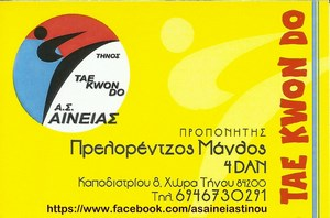 Αινείας Tae Kwon Do