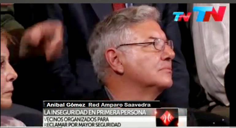 Nota a Juan Anibal Gómez en Prog. A Dos Voces por TN 15/Oc/2014