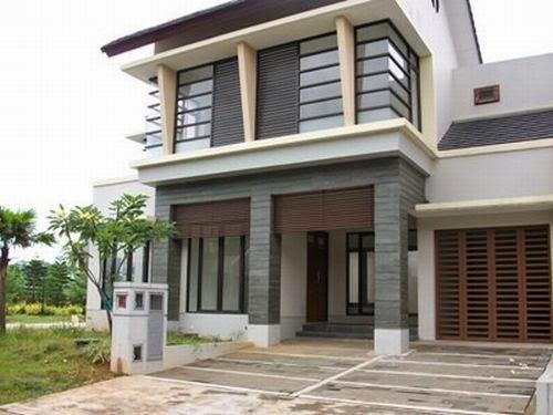 model rumah tingkat minimalis