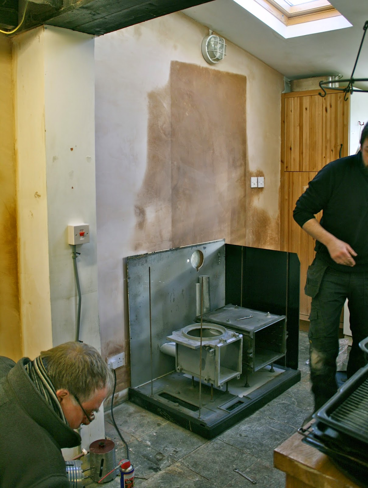 build aga - 2. sides, burner & bottom oven