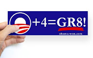 """O"" + 4 = GR8! Bumper Stickers & Magnets"