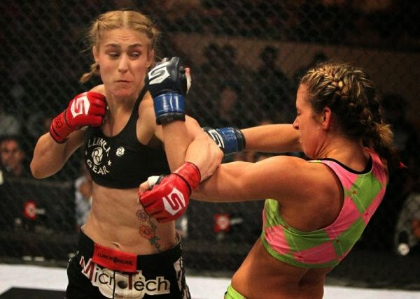 Marloes Coenen-Miesha Tate-mma females