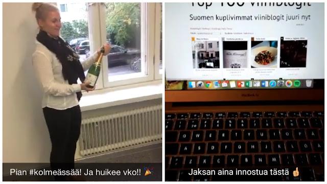 Snapchat blogdeblancs - www.blancdeblancs.fi