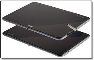 Acer выпустит недорогие 4-ядерные планшеты