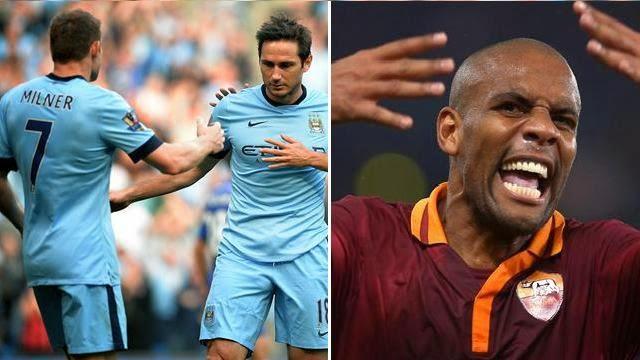 روما ومانشستر سيتي 1-1