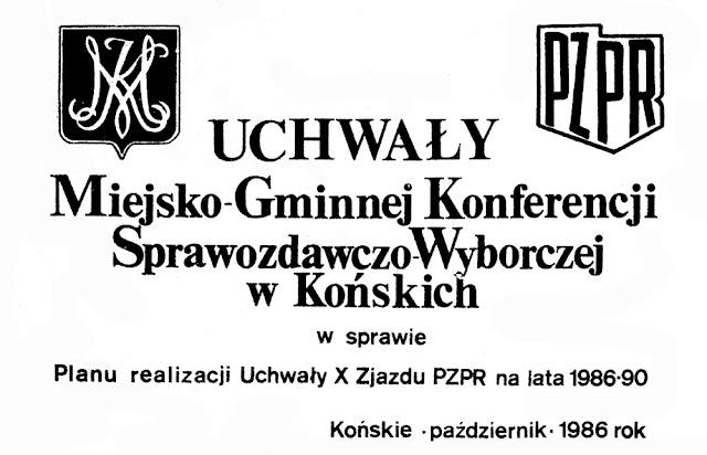 Broszura z 1986 r.