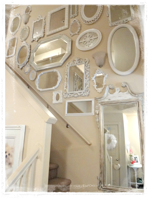Not So Shabby Shabby Chic Mirrors Flowers Amp Fur Babies