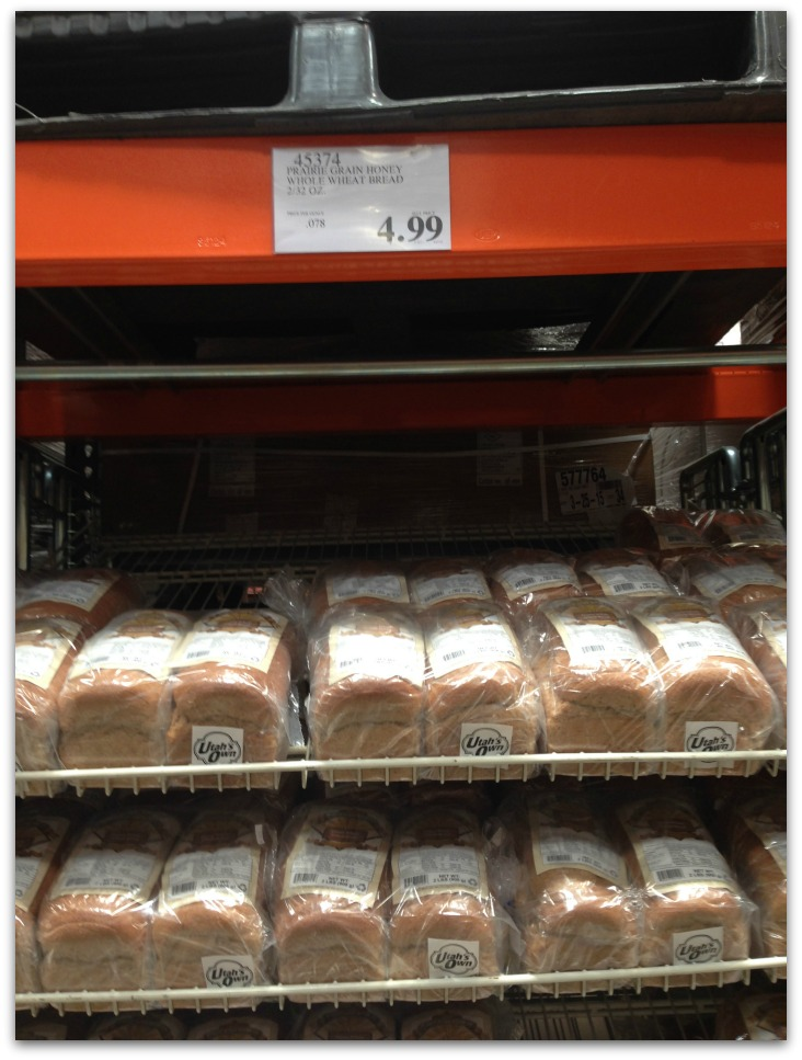 Whole Wheat Bread At Costco Is A Better Deal Than Normal Grocery Store