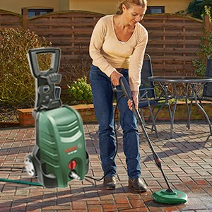 Bosch - AQT 35-12+ - Home and Car Washer (2HP) | 2HP Bosch AQT 35-12+ Car Washer Online, India - Pumpkart.com