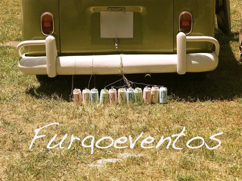 Furgoeventos, alquiler furgoneta vw T1 con conductor