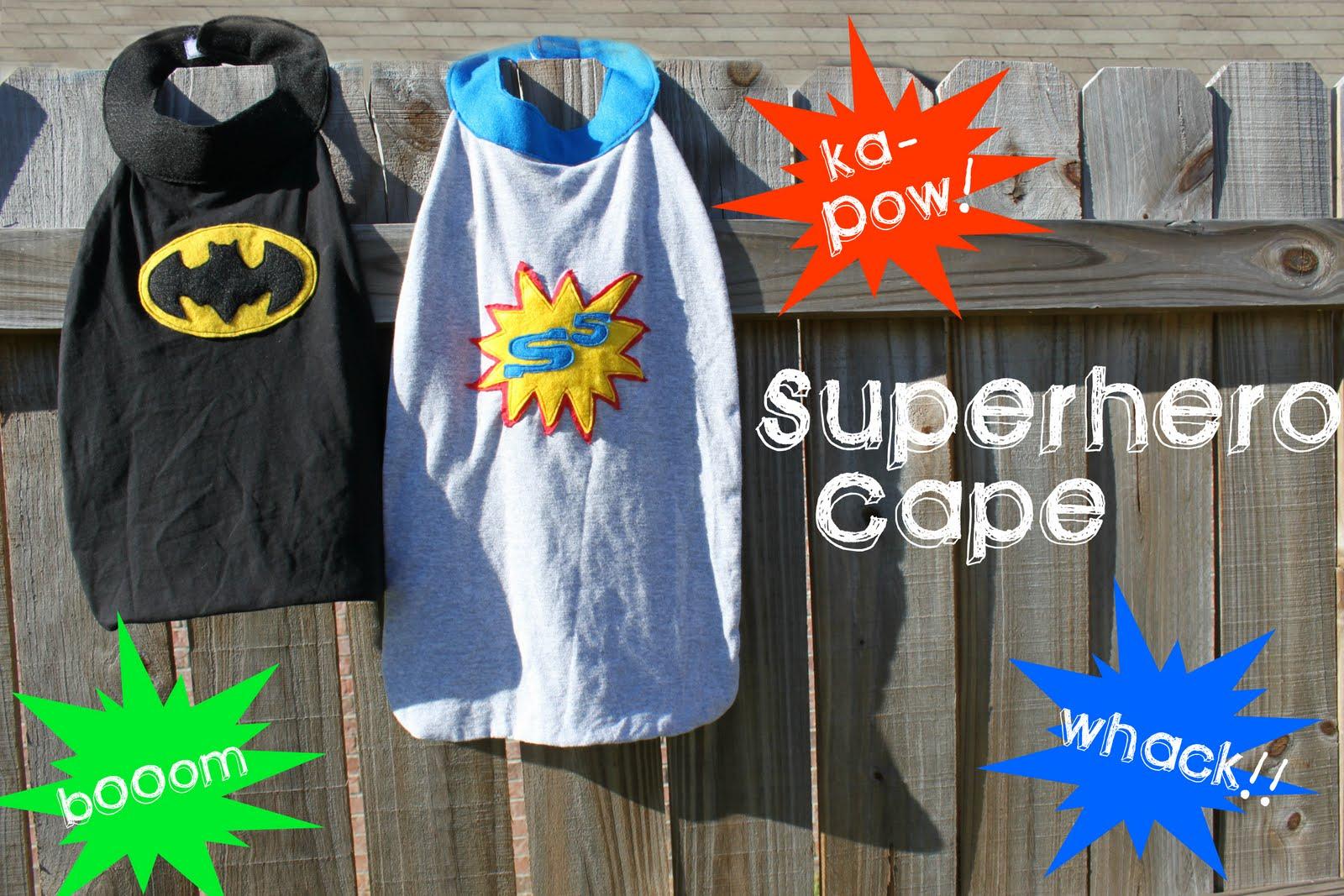 My Own Road Superhero Cape