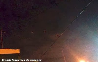 UFOs or Drones Over Reynosa - January 2014