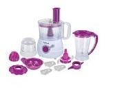 Vola VFP05501W 550W Multi-Functional 10 in 1 Food Processor (White & Purple)
