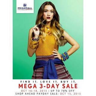 LoveFashionLoveMega, Mega3DaySale2015, SM Megamall sale