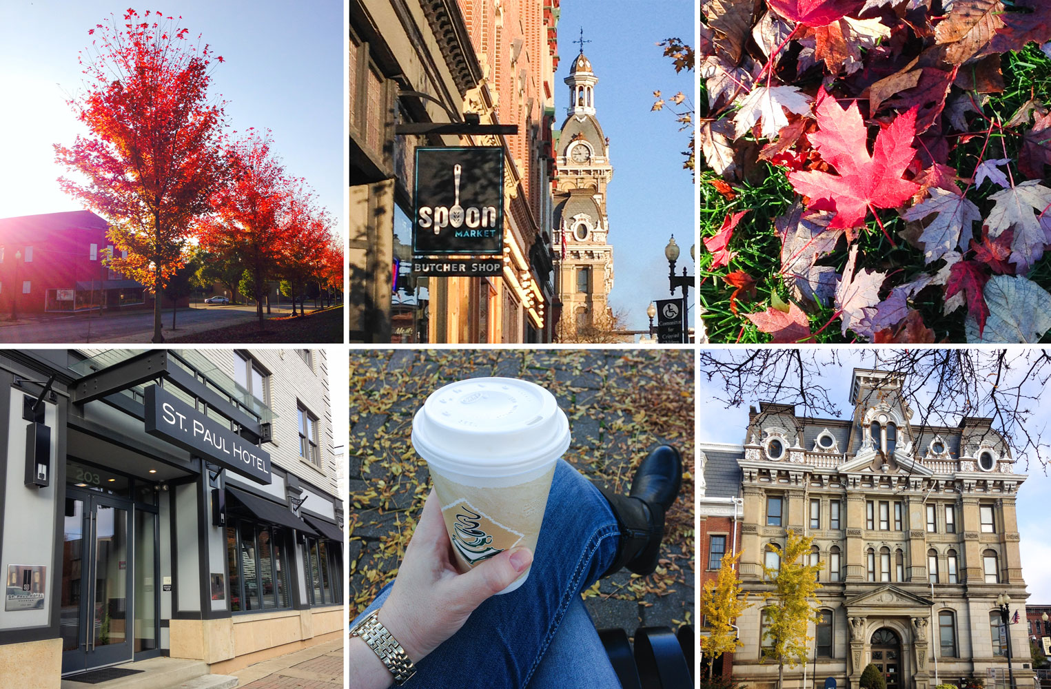 Wooster, OH in the fall - photos by Barefeet In The Kitchen