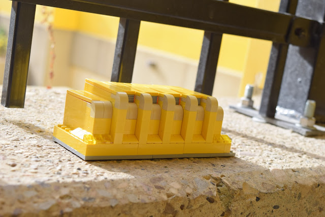 The U of A Butterdome in LEGO form