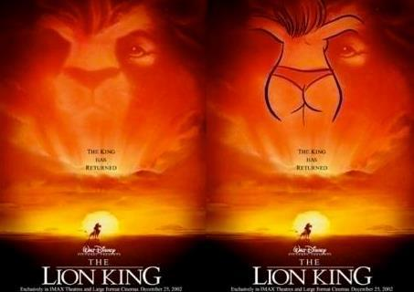 disney, lion, king, subliminal, message, cartoon