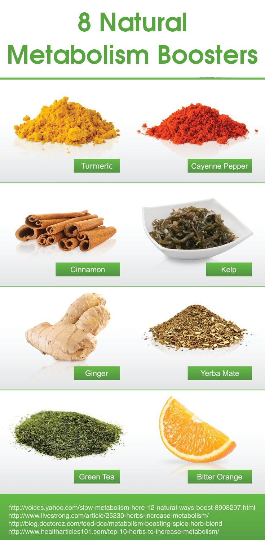 8 Natural Metabolism Boosters
