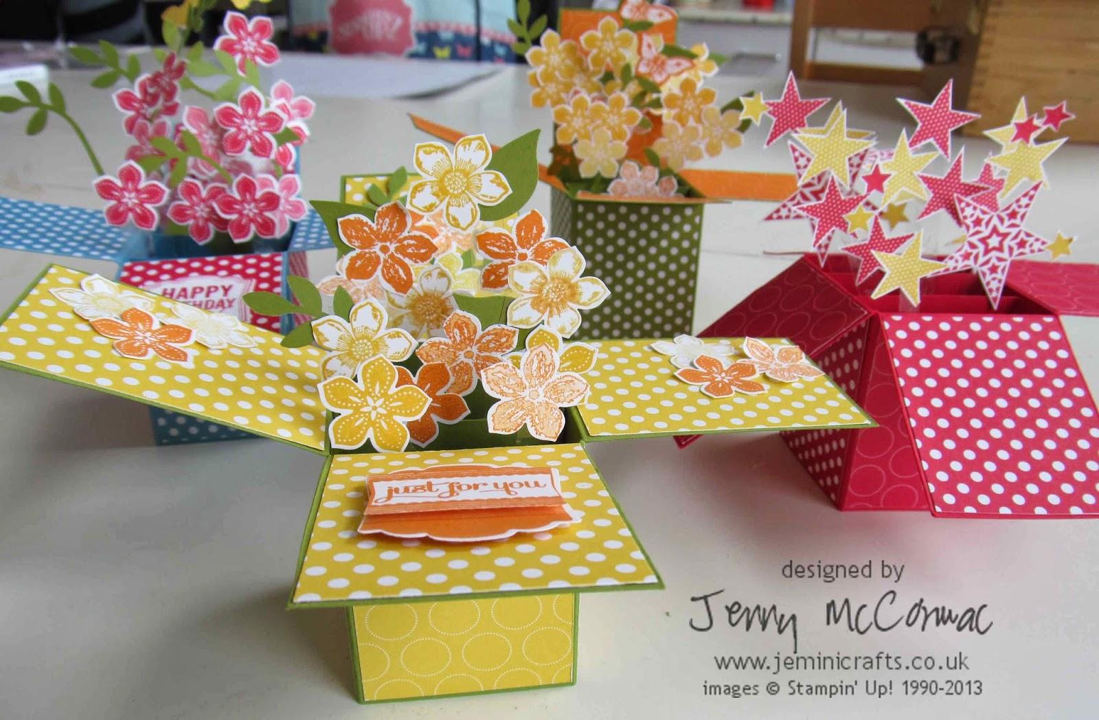 Jemini Crafts Fun Pop Up Box Cards