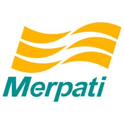 Merpati Logo Vektor Pesawat Terbang Indonesia