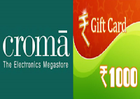 (Loot) Get Rs.1000 Cromaretail Gift Voucher On Sending A SMS