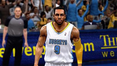 NBA 2K13 Andre Iguodala Cyberface Mods