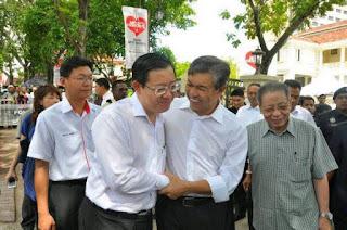 Zahid hamidi dan Lim Guan Eng