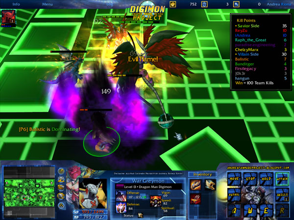 Digimon allstar legends ai chaos realm in game preview gumiabroncs Choice Image