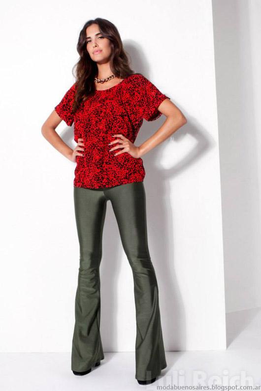 Luli Reich invierno 2014 colección ropa de mujer.