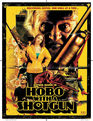 Watch Hobo with a Shotgun 2011 BRRip Hollywood Movie Online | Hobo with a Shotgun 2011 Hollywood Movie Poster