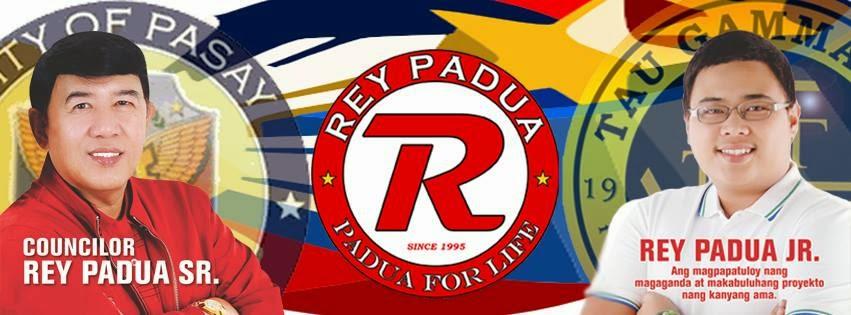 With Rey Padua Jr.