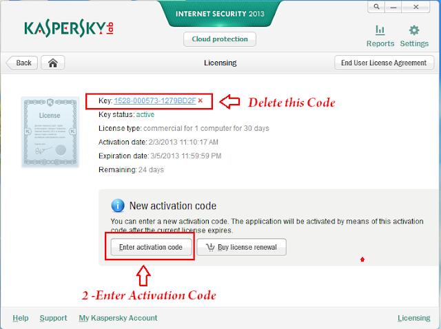 Download Activation Code For Kaspersky Internet Security 2013 ...