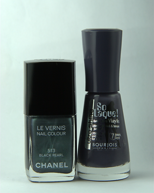 Chanel Le Vernis Black Pearl And Bourjois