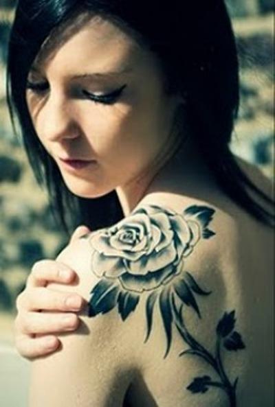 Τριαντάφυλλο τατουάζ, roses tatoo,