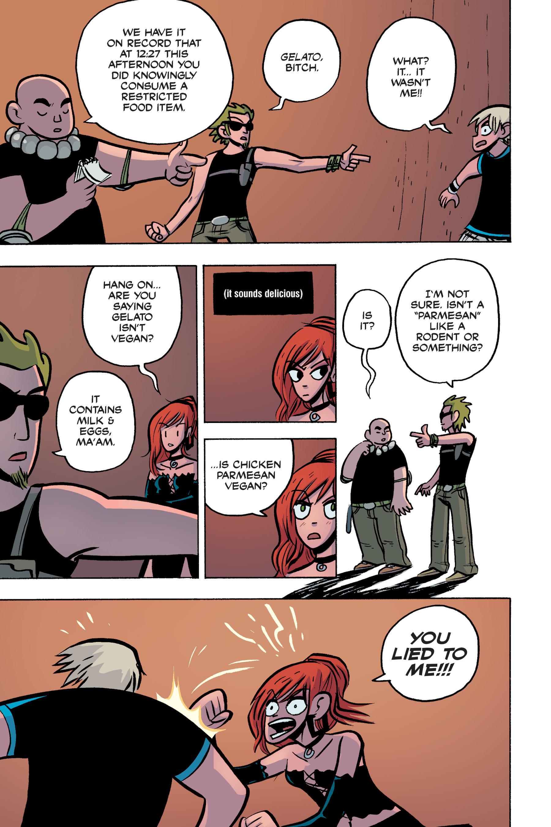 Read online Scott Pilgrim comic -  Issue #3 - 161