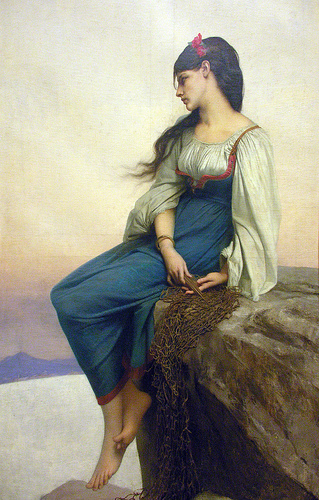 Jules Joseph Lefebvre painting