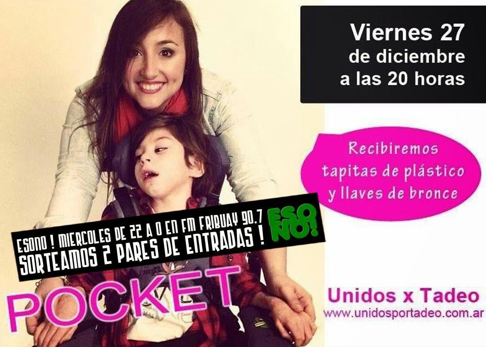 ★ POCKET CIERRA EL AÑO EN EL ND ATENEO Y PODES GANARTE ENTRADAS! ★