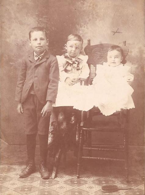 Millard, Orvin, Josy Davis about 1902