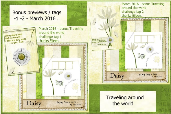 March 2016 -Bonus previews-tags-1-2-Traveling around the world.