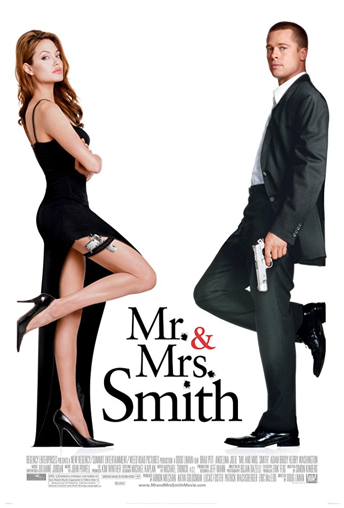Mr. & Mrs. Smith (2005) Hindi Dual Audio BluRay | 720p | 480p