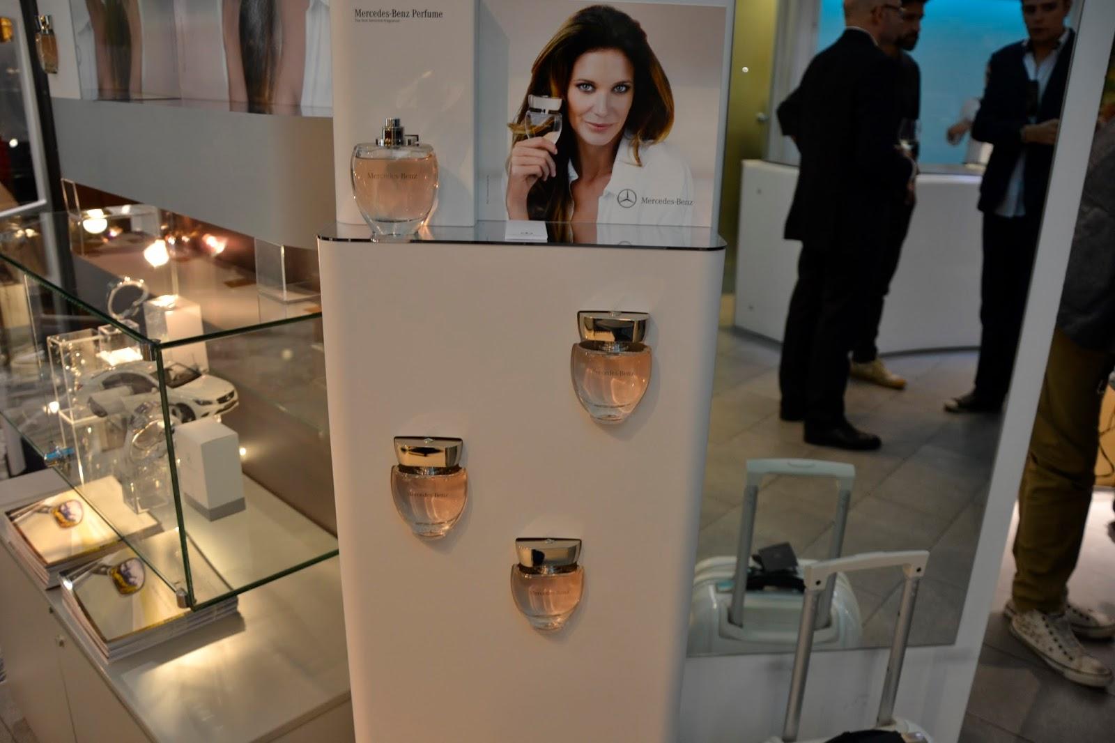 PinkSpeedBlog: VFNO Milan: Mercedes-benz new fragrance