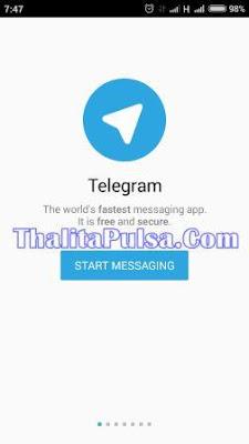 Transaksi Server Thalita Reload Pulsa Online Termurah Bisa via Aplikasi Telegram
