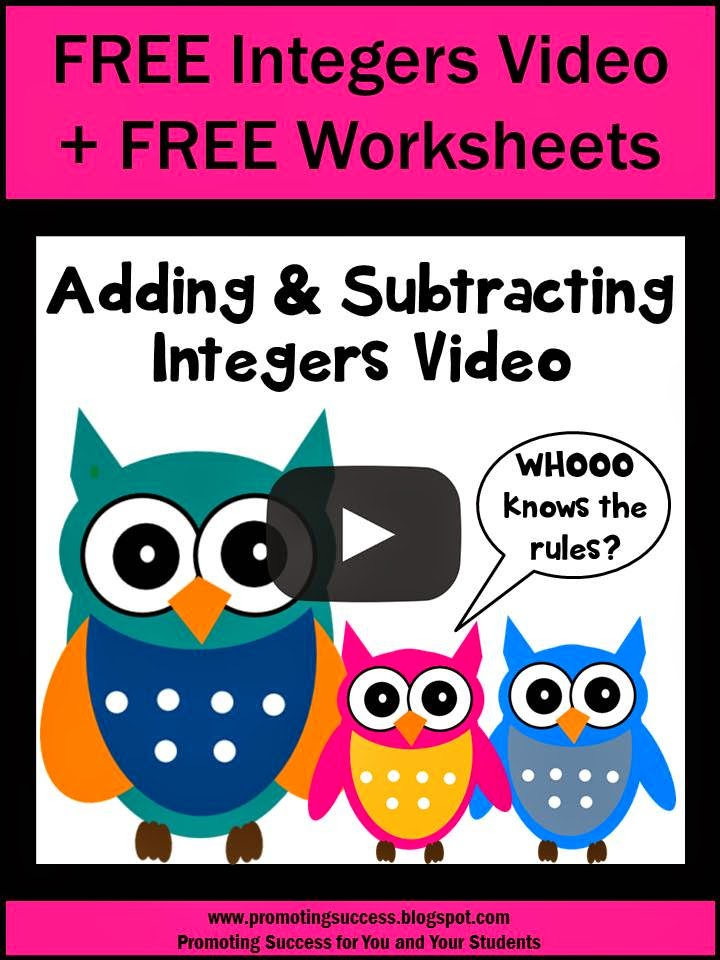 math worksheet : free math worksheets adding and subtracting integers  educational  : Adding And Subtracting Integers Free Worksheets