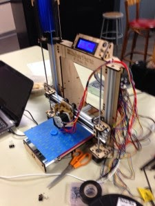 picture of a 3D printer