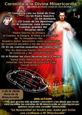 rosario a la misericordia de dios