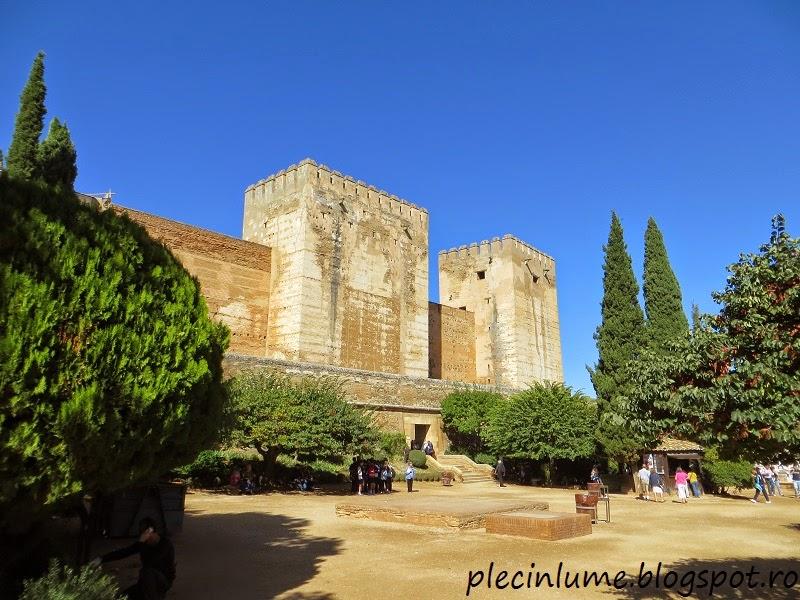 Intrarea in Alcazaba