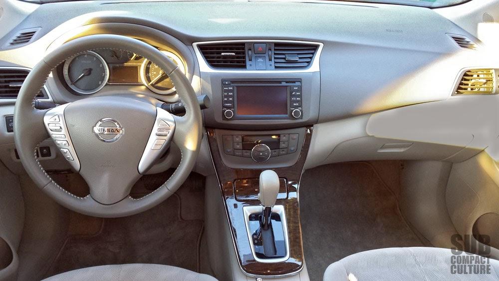 Review 2013 Nissan Sentra Sl Subcompact Culture The Small Car Blog