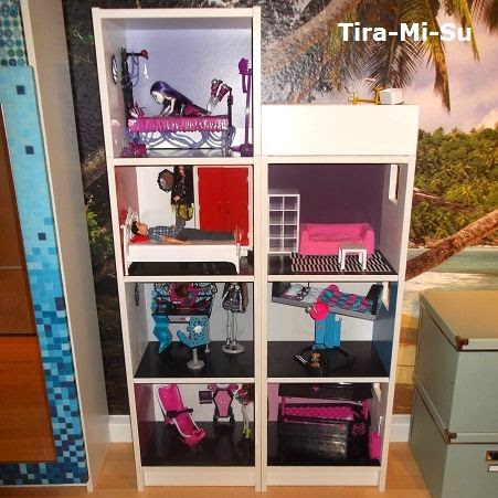 blogworld of tira mi su ikea hack billy monster doll house. Black Bedroom Furniture Sets. Home Design Ideas