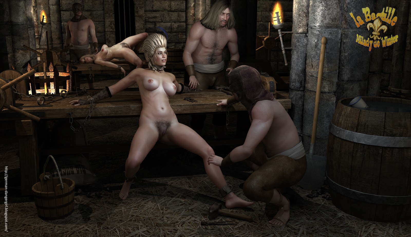 Рабыни в гареме в кандалах 11 фотография
